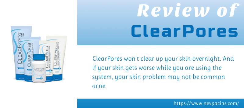 clearpores skin care