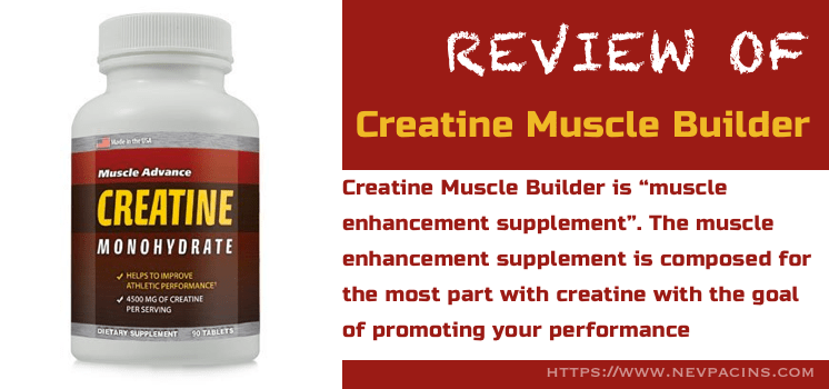 creatine muscle builder promo